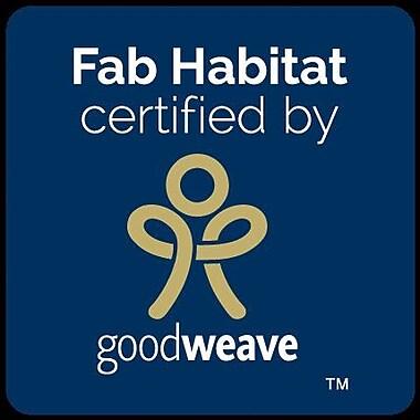 Fab Habitat Estate Hand-Woven Gold Area Rug; 6' x 9'