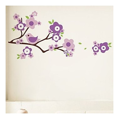 Pop Decors Lovely Branch and Birds Wall Decal
