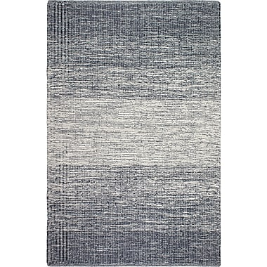 Fab Habitat Zen Hand-Woven Blue/Gray Area Rug; 5' x 8'