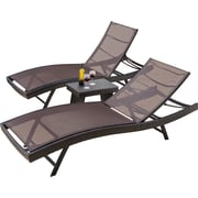 Home Loft Concepts Halulu 3 Piece Chaise Lounge Set