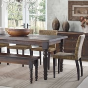 Grain Wood Furniture Valerie Dining Table; Barnwood
