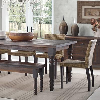 Grain Wood Furniture Valerie Dining Table; Barnwood
