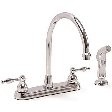 Premier Faucet Wellington Double Handle Kitchen Faucet w/ Sprayer