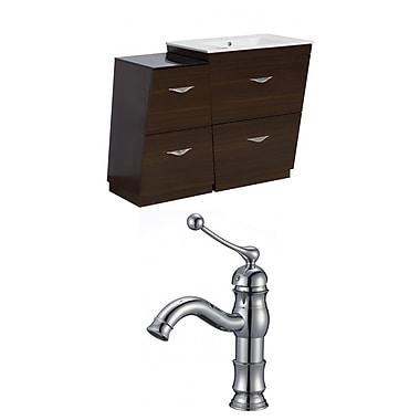 American Imaginations Vee 47.5'' Single Bathroom Vanity Set