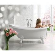 Aquatica Nostalgia 67'' x 32.75'' Soaking Bathtub