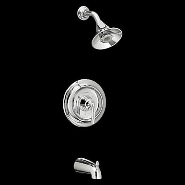 American Standard Tropic Flowise Pressure Balance Shower Only Trim; Polished Chrome