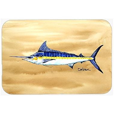 Caroline's Treasures Swordfish on Sandy Beach Kitchen/Bath Mat; 24'' W x 36'' L