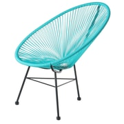 PoliVaz Acapulco Lounge Chair; Blue
