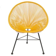 PoliVaz Acapulco Lounge Chair; Yellow