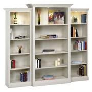 A&E Wood Designs Adelphi 84'' Oversized Set Bookcase