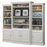 A&E Wood Designs French Restoration Kamran 86'' Oversized Set Bookcase