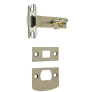 idh by St. Simons Privacy Backset; Satin Nickel