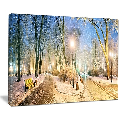 DesignArt 'Marrinsky Garden Panorama' Graphic Art on Wrapped Canvas; 30'' H x 40'' W x 1'' D