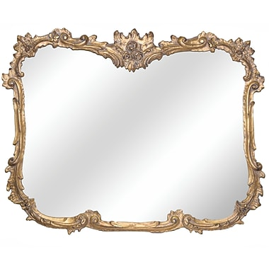 Hickory Manor House Buffet Mirror; Ornate