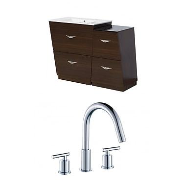American Imaginations Vee 48'' Single Bathroom Vanity Set
