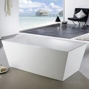 Kube Bath Squadra 67'' x 31.5'' Soaking Bathtub
