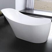 Kube Bath Victorian 67'' x 28.6'' Soaking Bathtub