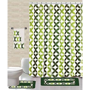 Daniels Bath 18 Piece Shower Curtain Set