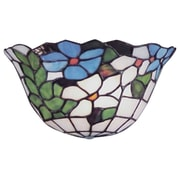 QSPL Flower Basket 1-Light Wall Sconce