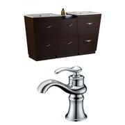 American Imaginations Vee 67.5'' Double Bathroom Vanity Set