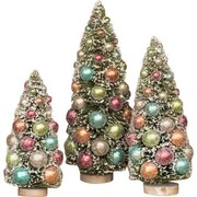 Ragon House Collection Pastel Ornament Tree; 10'' H x 5'' W x 5'' D