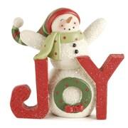 Blossom Bucket 'Joy' w/ Wreath Snowmen