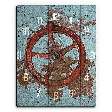 Click Wall Art 'Helm Hour' Graphic Art on Plaque; 30'' H x 20'' W x 1'' D