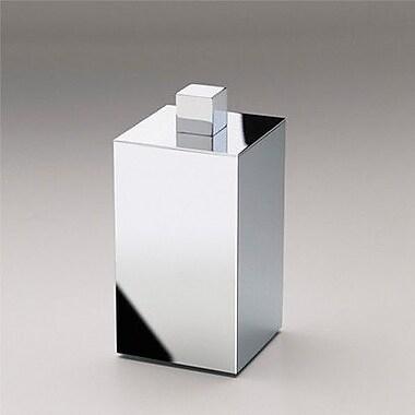 Windisch by Nameeks Square Metal Cotton Swab Storage Jar
