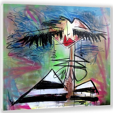 Two Palms Art Bazaar 'Miami Tan' by Jenny Perez Painting Print on Plaque; 29'' H x 29'' W x 1'' D