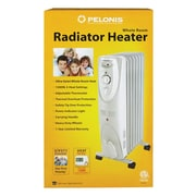 Pelonis 600/900/1500 Watts Portable Electric Radiant Radiator Heater