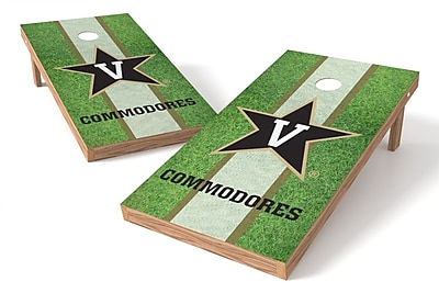 Tailgate Toss NCAA Field Cornhole Game Set; Vanderbilt Commodores