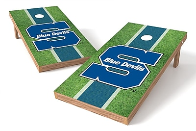 Tailgate Toss NCAA Field Game Cornhole Set; Wisconsin-Stevens Point Pointers