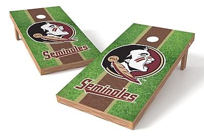Tailgate Toss NCAA Field Game Cornhole Set; Florida State Seminoles