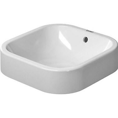 Duravit Happy D Bathroom Sink w/ Overflow