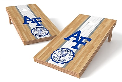 Tailgate Toss NCAA Hardwood Game Cornhole Set; Central Michigan Chippewas