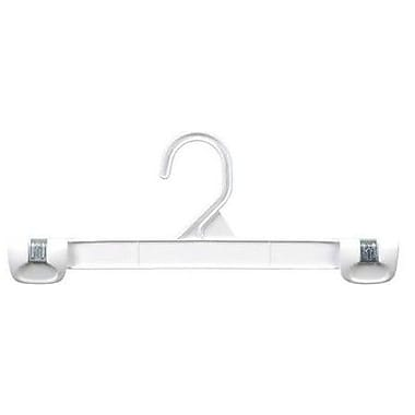 Only Hangers Inc. Plastic Gripper Hanger w/ Stationary Hook (Set of 50); White