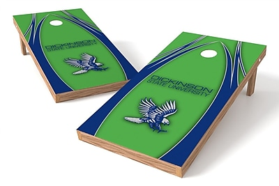 Tailgate Toss NCAA Dickinson State Cornhole Game Set