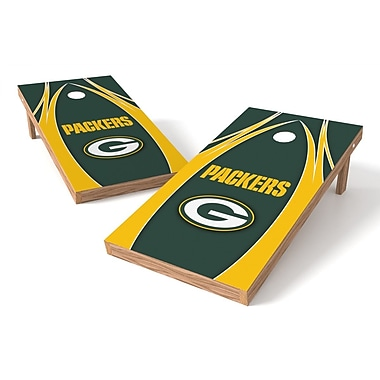 Tailgate Toss NFL Cornhole Game Set; Green Bay Packers