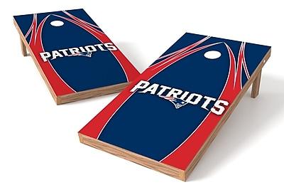 Tailgate Toss NFL Game Cornhole set; New England Patriots