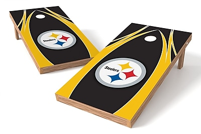 Tailgate Toss NFL Game Cornhole set; Pittsburgh Steelers