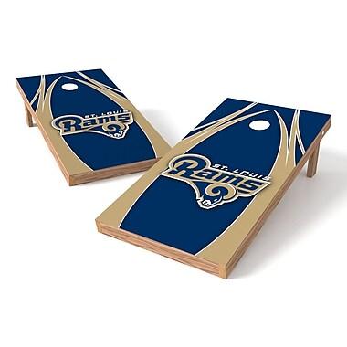 Tailgate Toss NFL Cornhole Game Set; St. Louis Rams