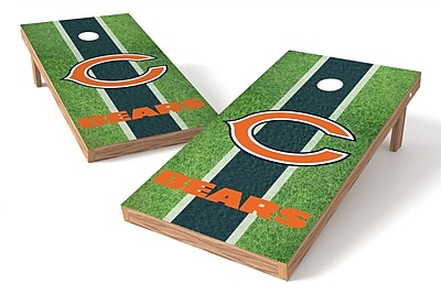 Tailgate Toss NFL Field Game Cornhole Set; Chicago Bears