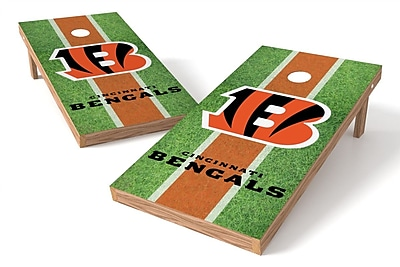 Tailgate Toss NFL Field Game Cornhole Set; Cincinnati Bengals