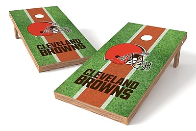 Tailgate Toss NFL Field Game Cornhole Set; Cleveland Browns