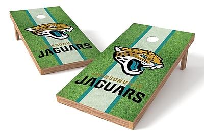 Tailgate Toss NFL Field Game Cornhole Set; Jacksonville Jaguars