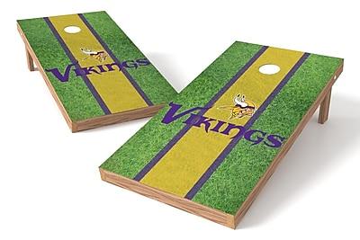 Tailgate Toss NFL Field Game Cornhole Set; Minnesota Vikings
