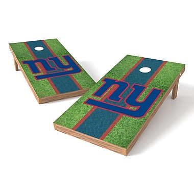 Tailgate Toss NFL Field Cornhole Game Set; New York Giants