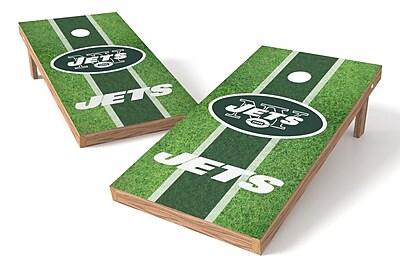 Tailgate Toss NFL Field Game Cornhole Set; New York Jets
