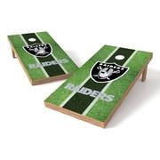Tailgate Toss NFL Field Cornhole Game Set; Oakland Raiders