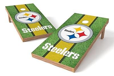 Tailgate Toss NFL Field Game Cornhole Set; Pittsburgh Steelers